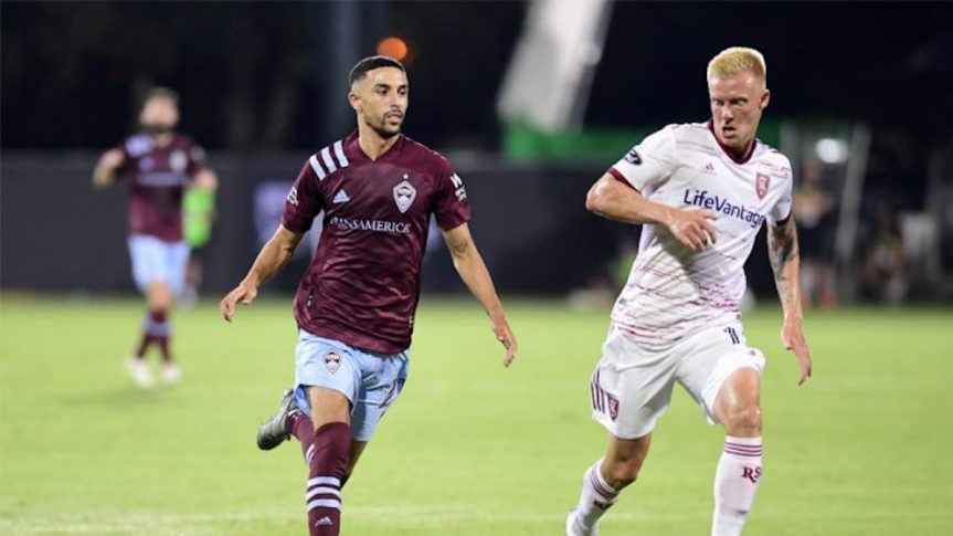 RSL Routes Rapids in MLS Re-Opening