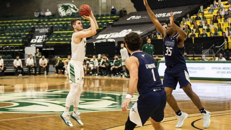 UVU hits game winning three on Seattle