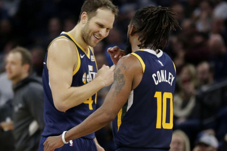 Utah Jazz: Analyzing the Conley and Bogdanovic additions one year later