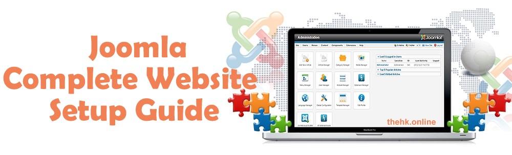 How to Create a Website with Joomla | Complete Joomla Setup Guide