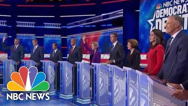 Dem Debate Stage