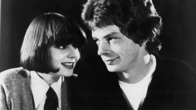 Clare Grogan has a crush on Gordon John Sinclair in a scene from the film 'Gregory's Girl', 1981.