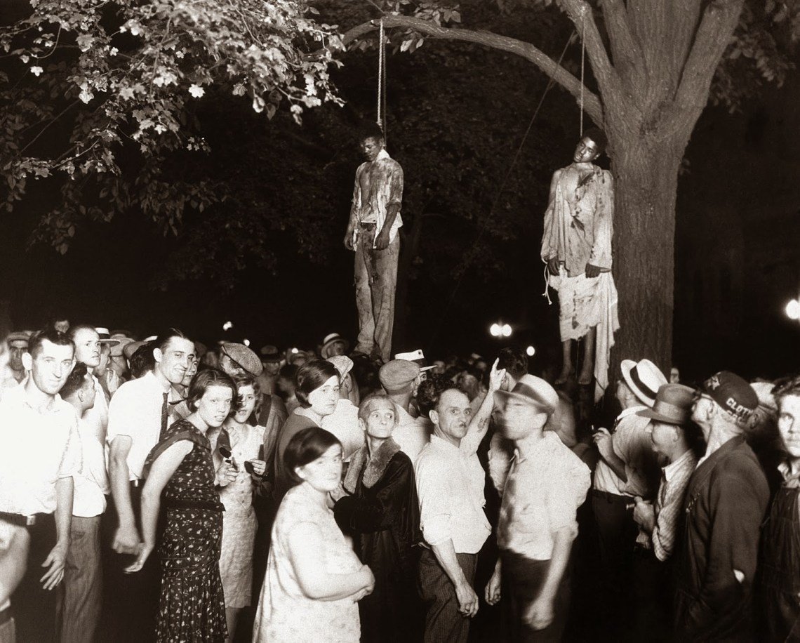 The lynching of Thomas Shipp and Abram Smith, Marion, Indiana, 1930