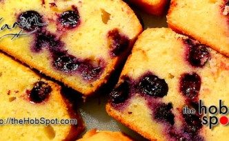 Blueberry and Lemon Gluten Free Cake Recipe