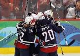 2010 USA Hockey Goal Celebration