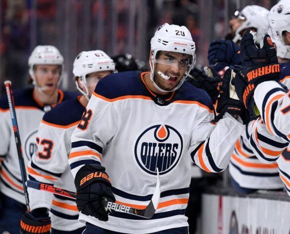 Andreas Athanasiou Oilers d'Edmonton