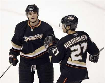 Rumor has it veteran defenseman Scott Niedermayer could be on the trading block.