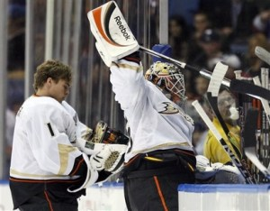 J.S. Giguere won the Conn Smythe in 2003, causing many to feel Brodeur was snubbed