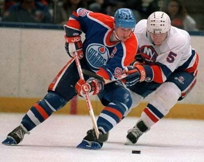 'The Great One' Wayne Gretzky in his prime with the Edmonton Oilers (Phil: Flickr)