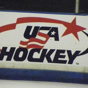USA Hockey Logo (photo property of the author)