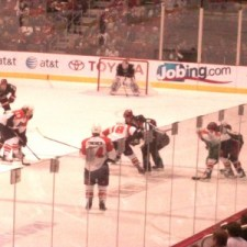 Coyotes Vs Flyers November 21st - Photo by Sharon Murphy