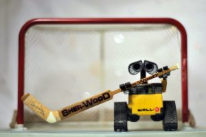 Would Wall-E be any better in net for the Blue Jackets? (Photo by meddygarnet/Flickr)
