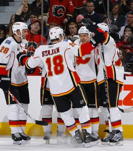 Matt Stajan, Calgary Flames, NHL