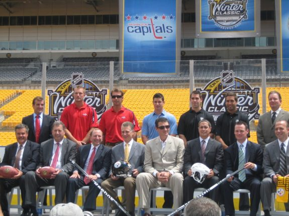Winter Classic Press Conference (THW/Mike Colligan)