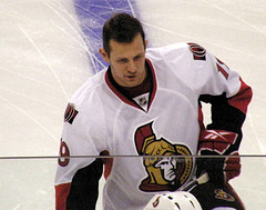 Jason Spezza's overall game has improved since returning to the lineup in February (Dan4th/Flickr)