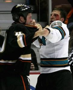 Ryan Clowe fight