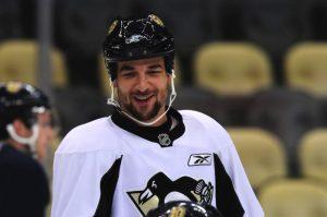 Penguins defenseman Deryk Engelland