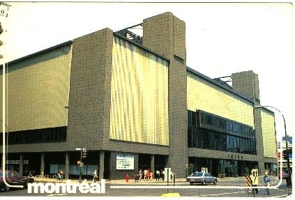 Montreal Forum 1970