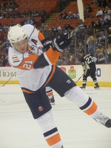 Kyle Okposo will add some power behind the Islanders offense over the second half of the season