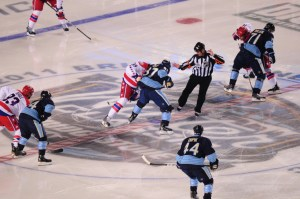 Ovechkin's Capitals defeated Crosby's Penguins in the 2011 Winter Classic at Heinz Field in Pittsburgh (Tom Turk/THW)