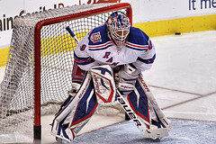 Lundqvist might be the best goalie on the planet. Courtesy Herman Von Petri, Flickr.
