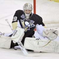 Fleury leads the NHL in wins (10) and is second in east in gaa (1.83)