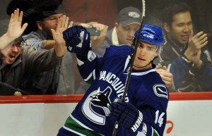 Feisty winger Burrows is currently injured (Photo by Mark S. Mauno).