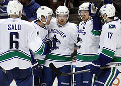 The Canucks' Achilles' heel has been their depth. (Photo by Chassen Ikiri).