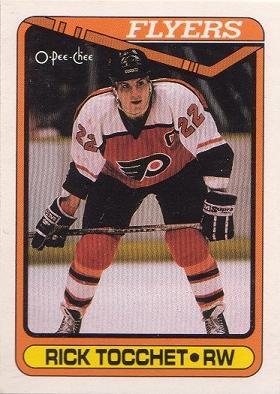 Captain Card Rick Tocchet