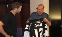 Simon Gagne Just What the Doctor Ordered in L.A.