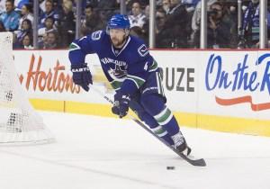 Keith Ballard Vancouver Canucks