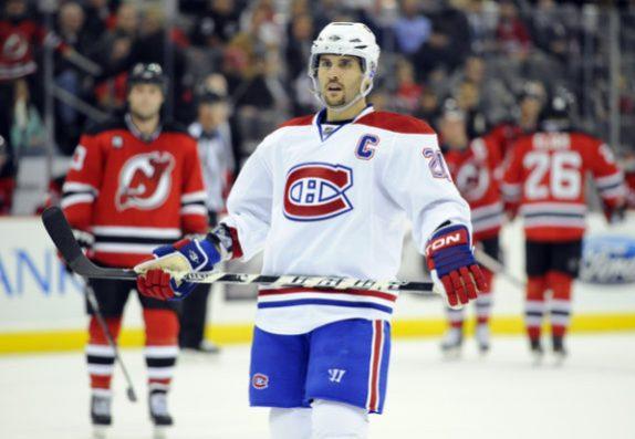 Brian Gionta Canadiens