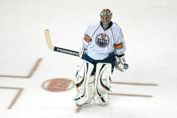 Nikolai Khabibulin Edmonton Oilers