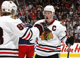 'Chicago Blackhawks Jonathan Toews' NHL