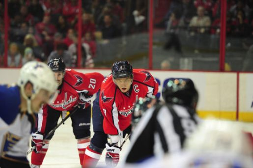 Alex Ovechkin and the Capitals were prepared for the worst against Phoenix and Colorado. (Tom Turk/THW)