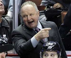 (THW file photo) Everything old is new again in Anaheim, much to the chagrin of many Ducks fans who aren't exactly welcoming Randy Carlyle back with open arms.