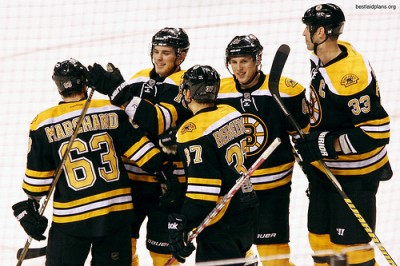 Bruins Roll Tired Isles