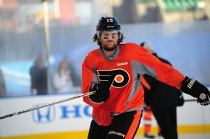 O2K client Scott Hartnell is in the midst of a career season (Tom Turk/THW)