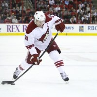 Shane Doan signed a multiyear contract with the Coyotes before the season.