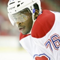Montreal Canadian P.K. Subban   - Photo By Andy Martin Jr