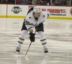 Philip Larsen is quickly developing into a go-to defender for the Stars (StarsFanDebbie / Debbieshockeyphotos)