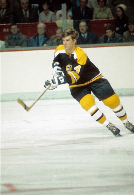 Bobby Orr at the Montreal Forum 1971