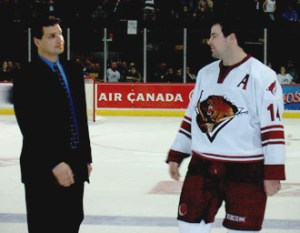 Eddie Olczyk Hall of Fame