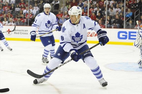 Mike Komisarek Maple Leafs
