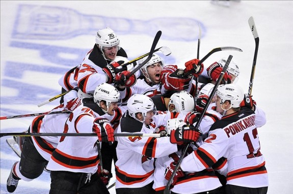 devils beat the panthers 2012