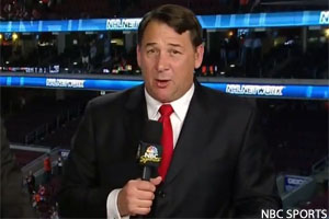 Mike Milbury Announcer