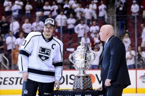 The Los Angeles Kings will defend their championship in this year's playoffs. (Matt Kartozian-US PRESSWIRE)