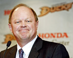 Anaheim Ducks general manager Bob Murray - (File Photo)