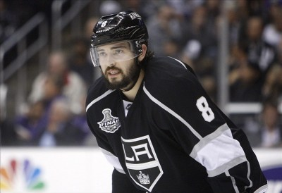 (Jerry Lai-US PREWIRE) Drew Doughty has certainly accomplished enough in his young career to be worthy of wearing the 'C' for the Los Angeles Kings next season.
