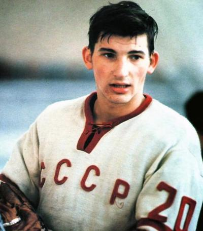 Vladislav Tretiak European hockey player
